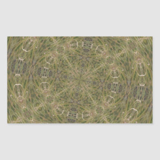 Intriguing Designed Pattern Rectangular Sticker