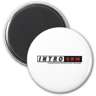 INTROcrm.com 2 Inch Round Magnet
