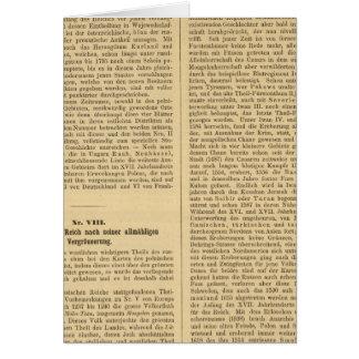 Introducción 4849 Nordische Reiche VIIIIX Tarjeta De Felicitación