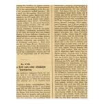 Introducción 4849 Nordische Reiche VIIIIX Tarjeta Postal