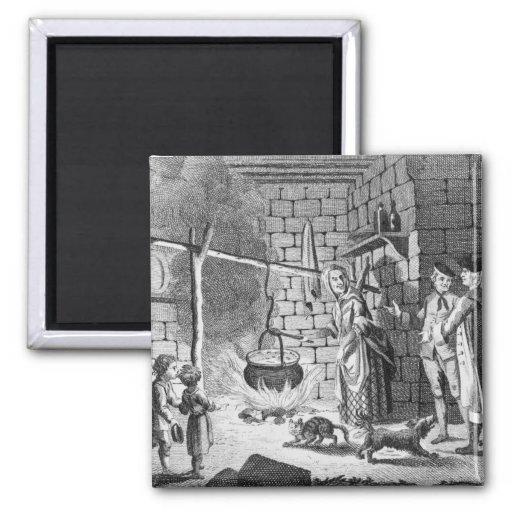 Introducción del Dr. Samuel Johnson a una montaña Imanes
