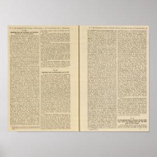 Introducción Deutschland 1819 IIIV Póster