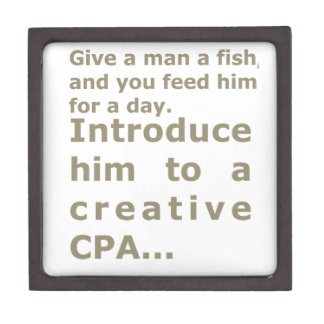 Introduce him to a creative CPA Gift Box
