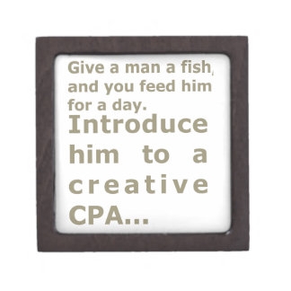 Introduce him to a creative CPA Jewelry Box