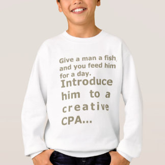 Introduce him to a creative CPA Sweatshirt