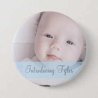 Introducing Baby Personalized  Photo & Name Button