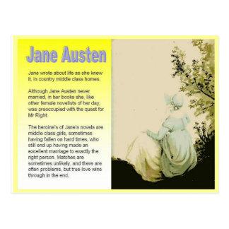 Introducing Jane Austen Postcard