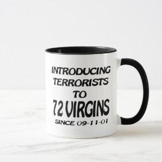Introducing Terrorists To 72 Virgins Mug