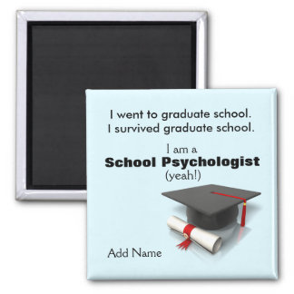 Introducing the School Psychology Graduate-Magnet 2 Inch Square Magnet