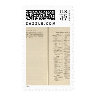 Introduction 1213 Tafel der Karte XII Stamp