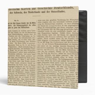Introduction 1415 Tafel der Karte XII Binder