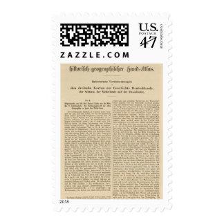 Introduction 1415 Tafel der Karte XII Postage Stamp