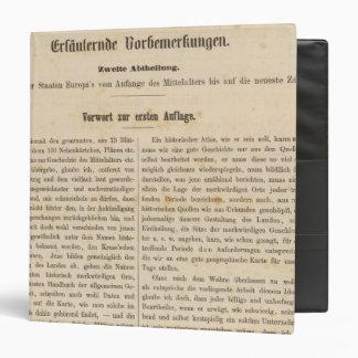 Introduction I Vorwart zur 1 Aufl Binder