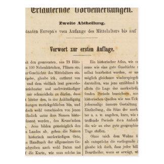 Introduction I Vorwart zur 1 Aufl Postcard