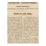 Introduction I Vorwart zur 1 Aufl Postcards
