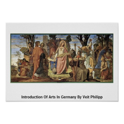 Introduction Of Arts In Germany By Veit Philipp Print