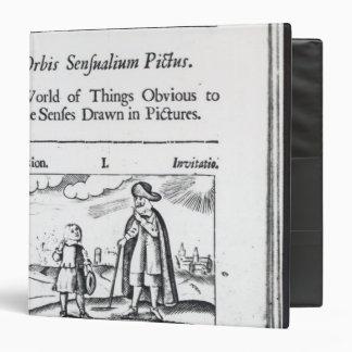 Introduction to 'Orbis Sensualium Pictus' 3 Ring Binder