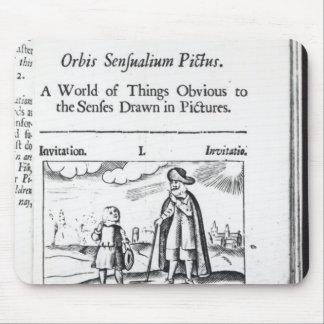 Introduction to 'Orbis Sensualium Pictus' Mouse Pad