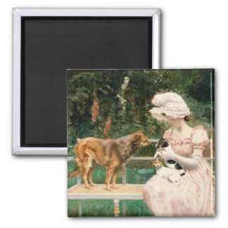 Introductions 2 Inch Square Magnet