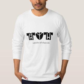 Introibo ad altare dei t shirts