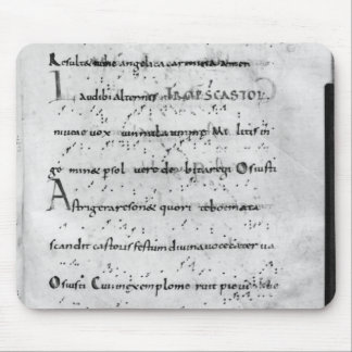 Introit for the feast of St. Castor Mouse Pad