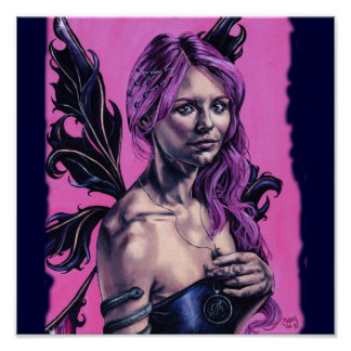 introspection gothic faery artwork poster