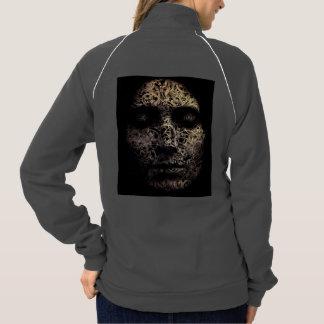 """""""Introspection"""" Women's Fleece Track Jacket"""