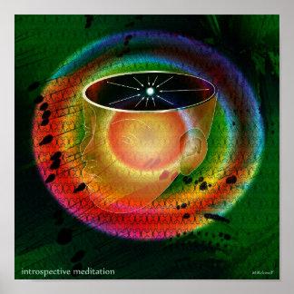 Introspective Meditation Print
