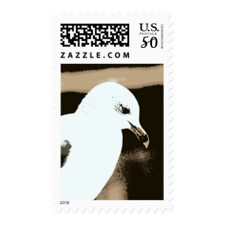 Introspective Seagull Stamps! Postage