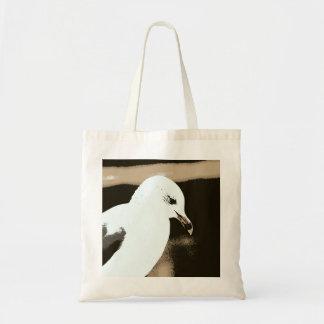 Introspective Seagull Tote Bag