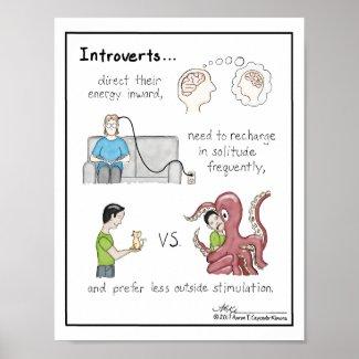 Introvert Basics Print