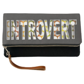Introvert internal design   Clutch Purse