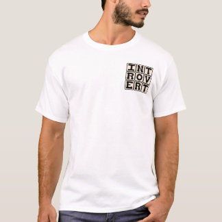 Introvert, Personality Trait T-Shirt