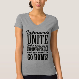 Introvert Quote Humor T-Shirt