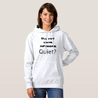Introvert Speaks: Quiet? Hoodie