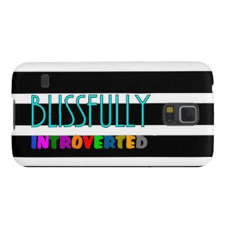 Introverted dichosamente - cajas de la galaxia S5 Carcasas De Galaxy S5