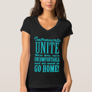 Introvertedly Introverted Introverts AKA Shy T-Shirt