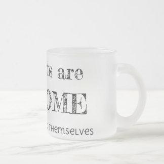 Introverts es impresionante taza de cristal