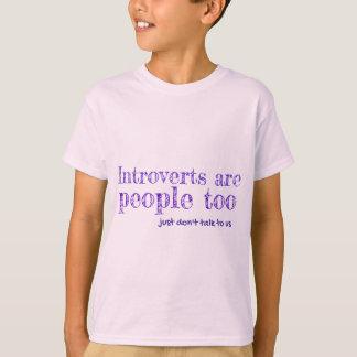 Introverts es la gente (a) camisas