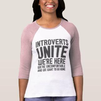 INTROVERTS NOS UNEN están aquí nosotros son Tshirts