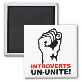Introverts O.N.U-Unen el imán divertido del refrig