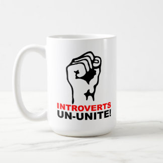 Introverts Un-Unite Funny Mug