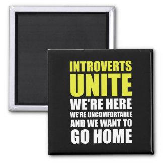 Introverts unen imán cuadrado