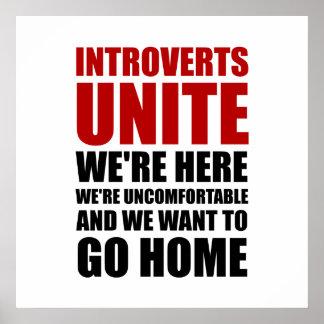Introverts unen póster