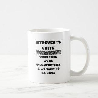 Introverts Unite Coffee Mug