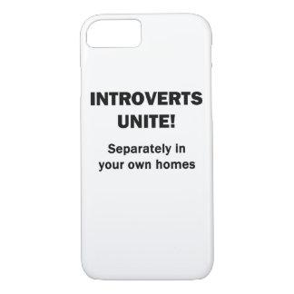 Introverts Unite! iPhone 7 Case