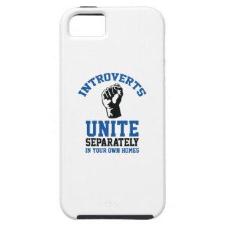 Introverts Unite iPhone SE/5/5s Case