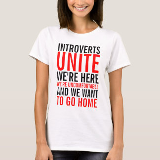 Introverts Unite Ladies Top