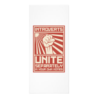 Introverts Unite Separately In Your Own Homes Rack Card