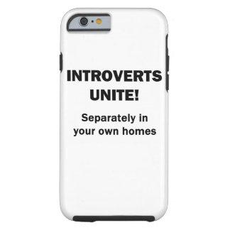 Introverts Unite! Tough iPhone 6 Case